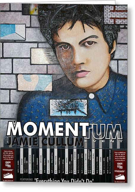 Moment.tum Greeting Card by Guadalupe Herrera