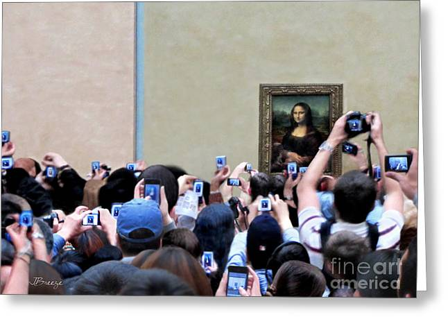 Mona Mobbed Greeting Card