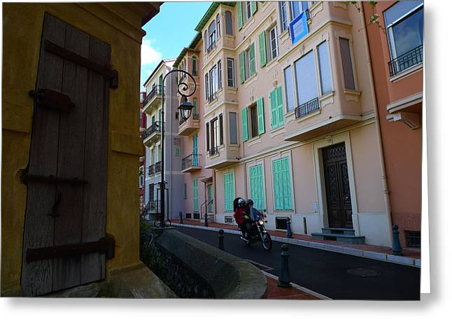 Monaco Alley Greeting Card