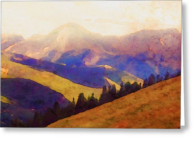 Monarch Pass Colorado Greeting Card