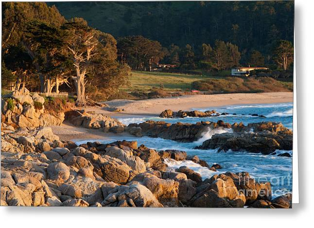 Monastery Beach In Carmel California Greeting Card