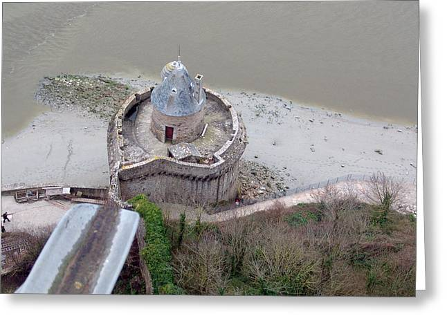 Monastery Fortifications  Greeting Card