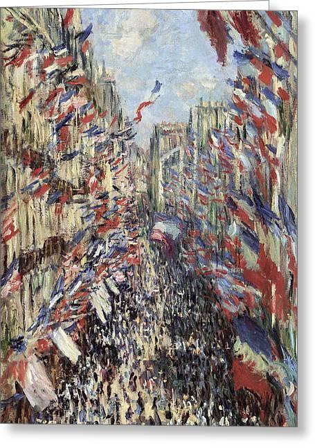 Monet Celebration, 1878 Greeting Card by Granger