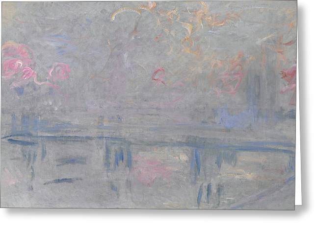 Monet Charing Cross, C1900 Greeting Card by Granger