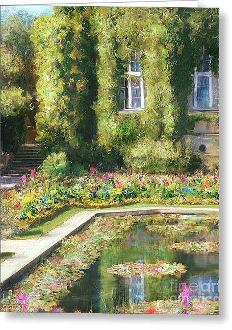 Monet Hommage 1 Greeting Card by Danella Students
