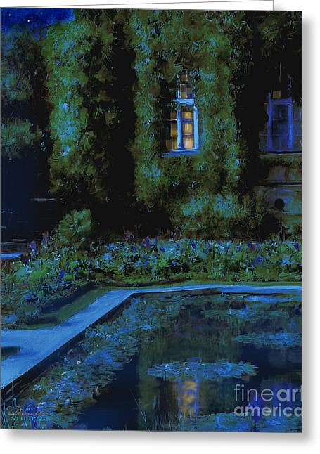 Monet Hommage 2 Greeting Card