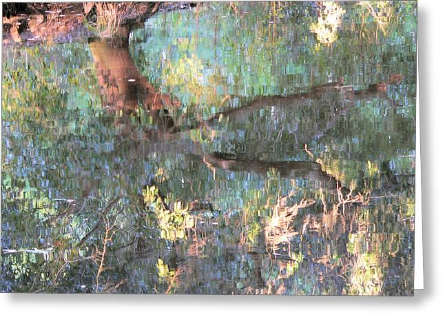 Monets Mississippi Greeting Card