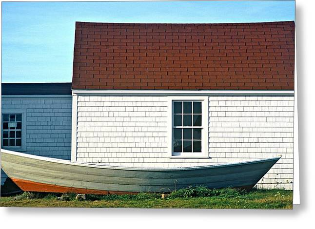 Monhegan Museum2 Greeting Card