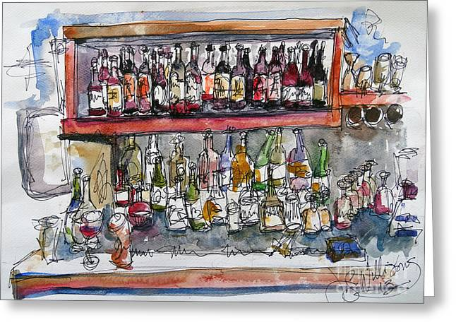 Monkeypod's Bar Greeting Card