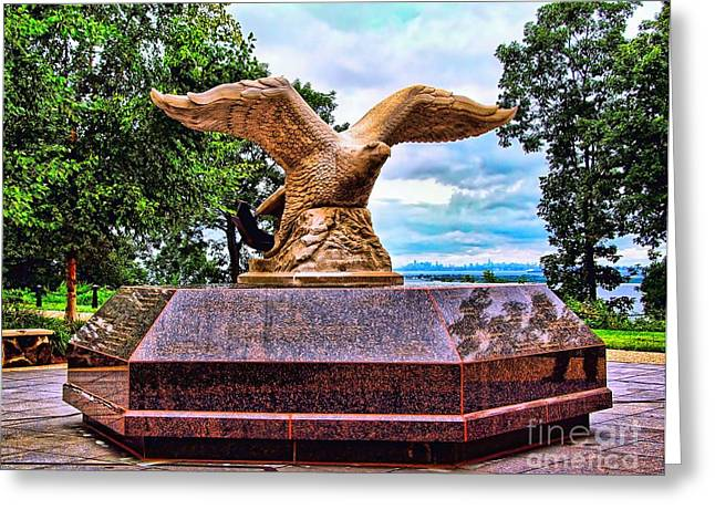 Monmouth County 9/11 Memorial Greeting Card by Nick Zelinsky