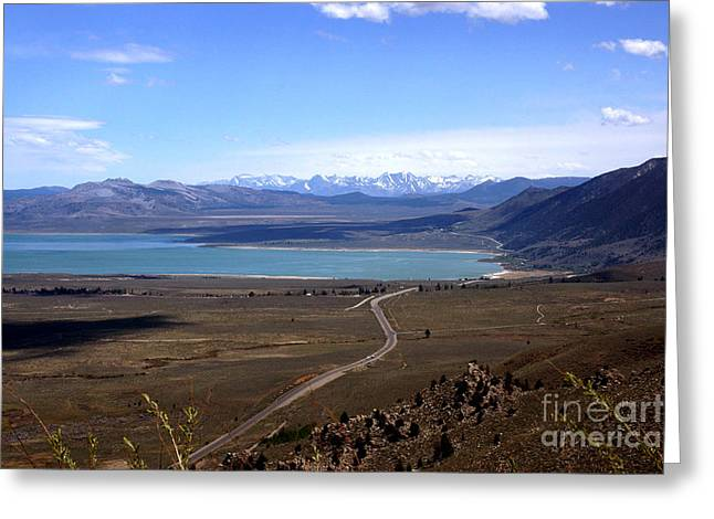Mono Lake And The Sierra Nevada Greeting Card