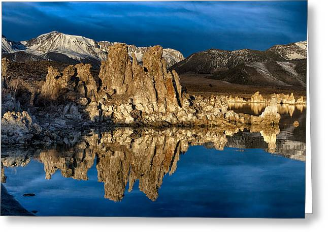 Mono Lake In March Greeting Card