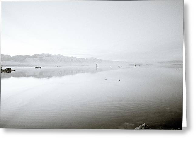 Mono Lake Serenity Greeting Card by Shaun Higson