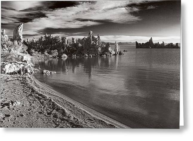 Mono Lake South Towers Greeting Card by Jim Snyder
