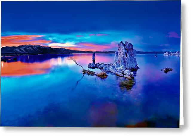 Mono Lake Sunset Greeting Card