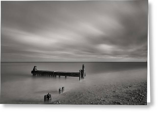 Mono Reculver Bay Greeting Card