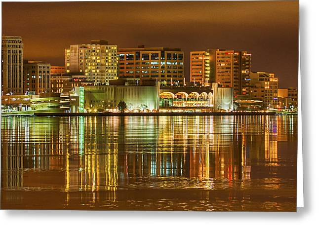Monona Terrace Madison Wisconsin Greeting Card by Steven Ralser