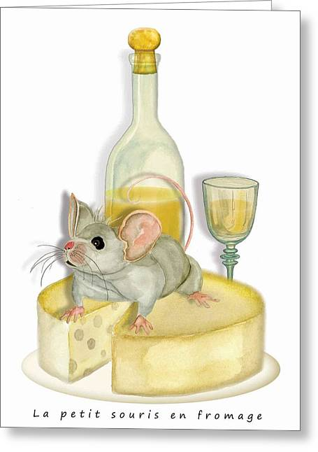 Monsieur Mouse Greeting Card