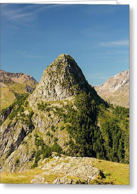 Mont Chetif Above Courmayeur Greeting Card
