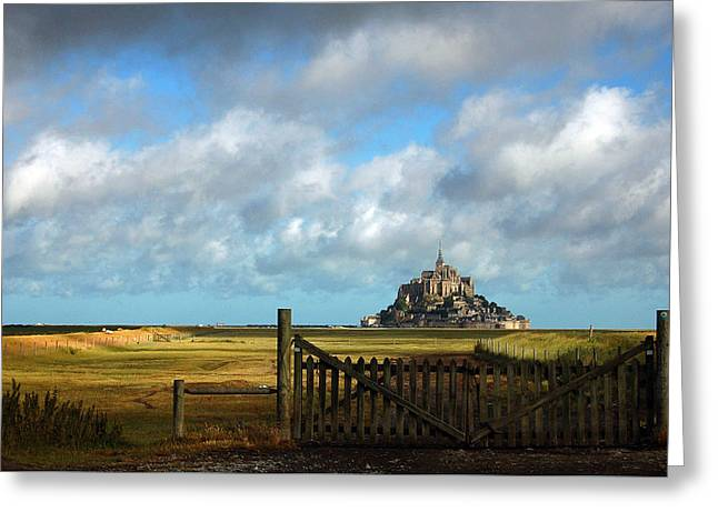 Mont Saint-michel Greeting Card by RicardMN Photography