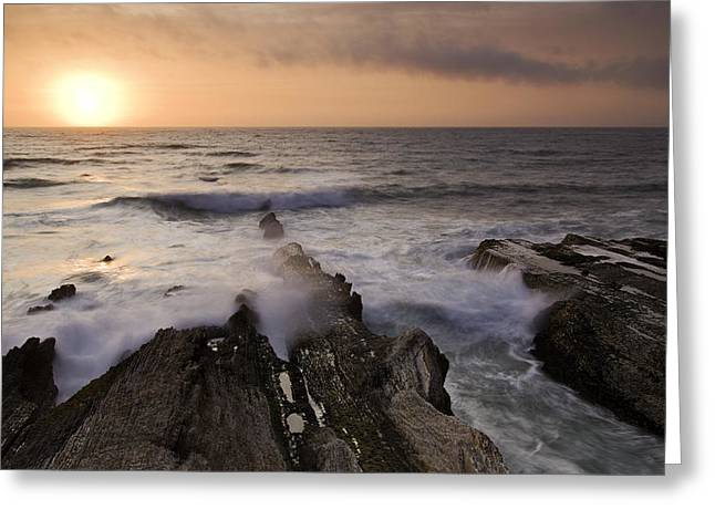 Montana De Oro 2 Greeting Card