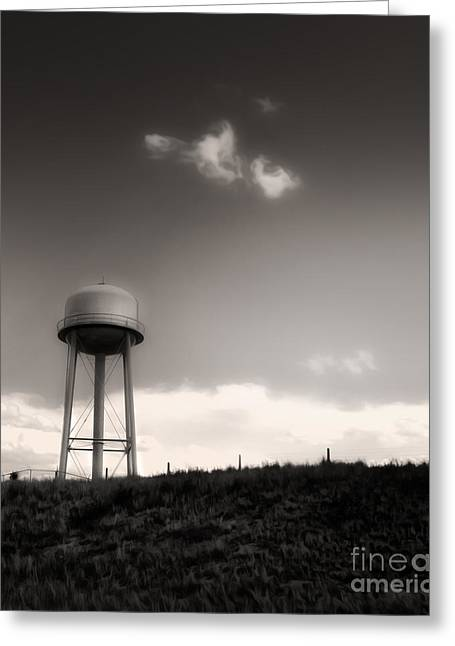 Montana - Lonely Sky Greeting Card by Gregory Dyer