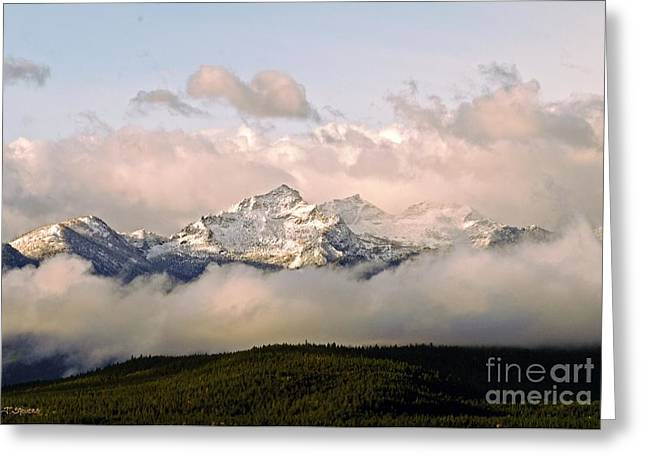 Montana Mountain Greeting Card