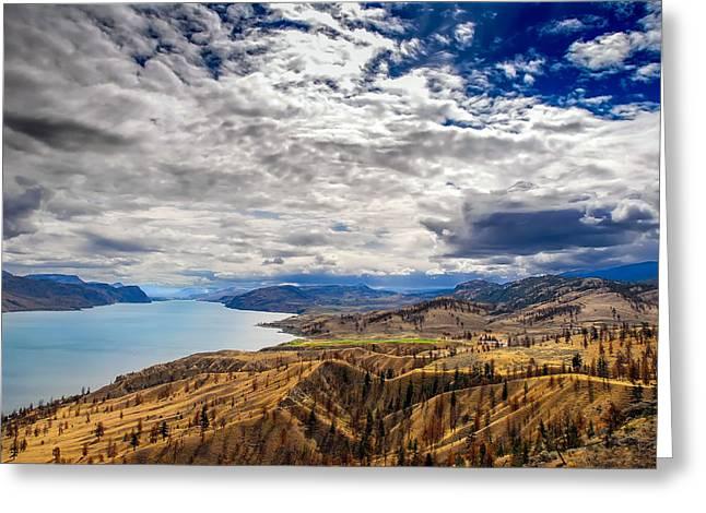 Montana Sky Greeting Card