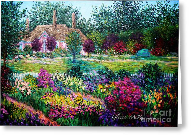 Montclair English Garden Greeting Card