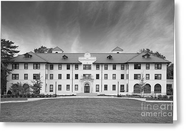 Montclair State University Edward Russ Hall Greeting Card by University Icons