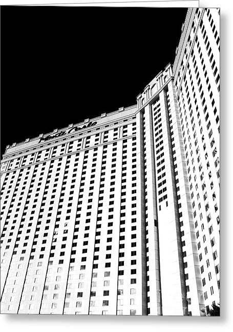 Monte Carlo Angles Greeting Card by John Rizzuto