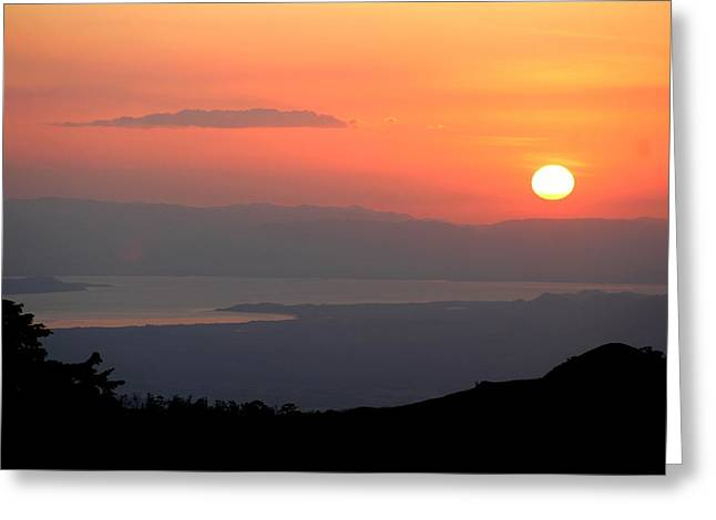 Monte Verde Sunset Greeting Card