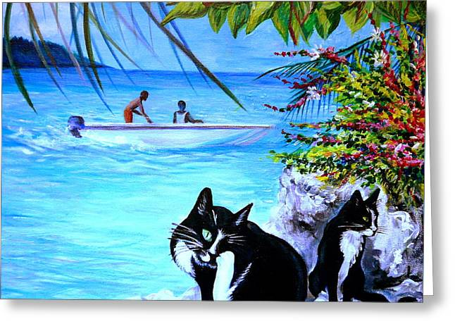 Montego Bay. Part One Greeting Card
