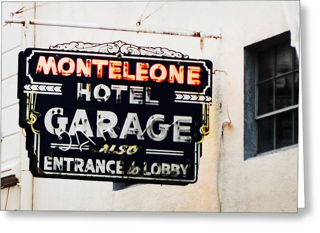 Monteleone Hotel Greeting Card