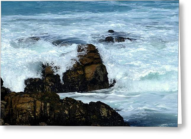 Greeting Card featuring the photograph Monterey-2 by Dean Ferreira