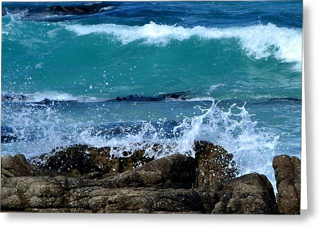Greeting Card featuring the photograph Monterey-3 by Dean Ferreira