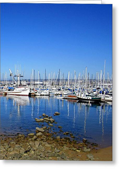 Greeting Card featuring the photograph Monterey-7 by Dean Ferreira