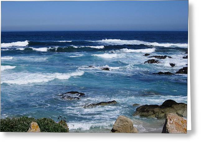 Greeting Card featuring the photograph Monterey-9 by Dean Ferreira
