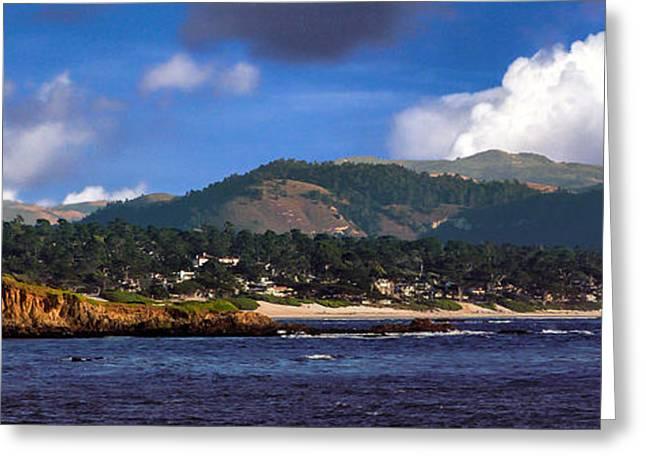 Monterey Bay California Greeting Card by Lynn Bolt