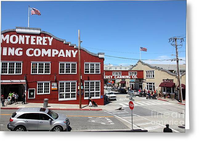 Monterey Cannery Row California 5d25042 Greeting Card