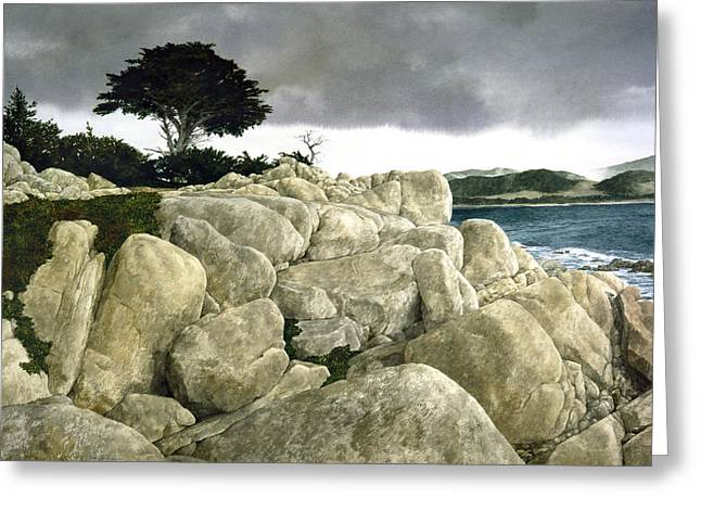 Monterey Coast Greeting Card