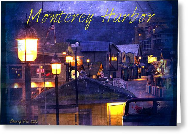 Monterey Harbor Greeting Card