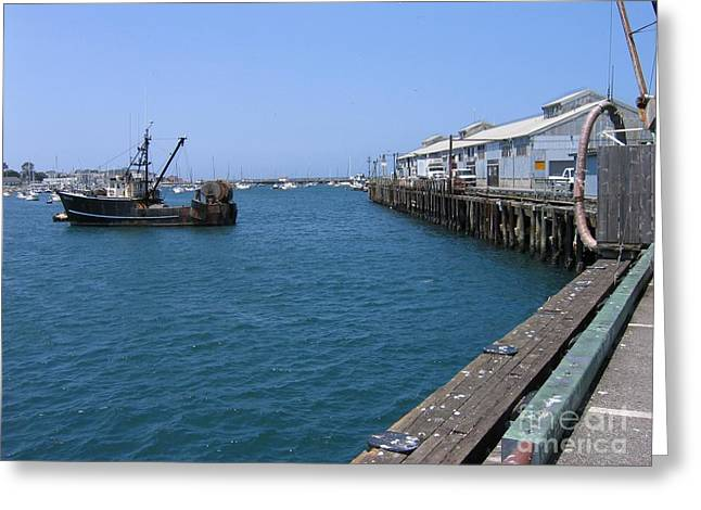 Monterey Municipal Wharf Greeting Card