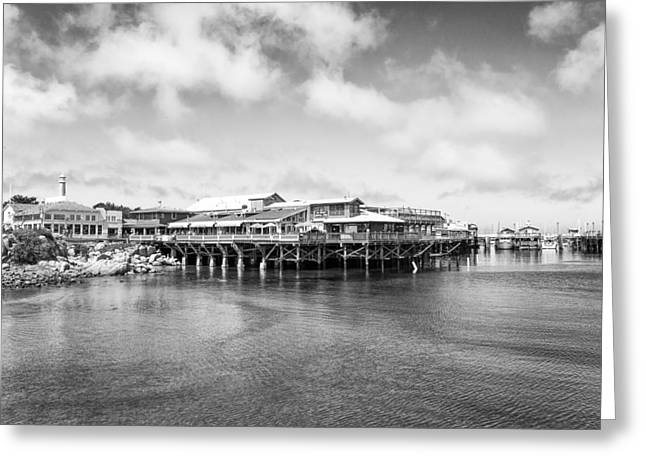Monterey Old Fisherman's Wharf Greeting Card