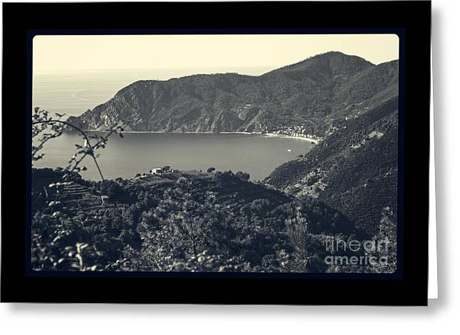 Monterosso Al Mare From Above Greeting Card