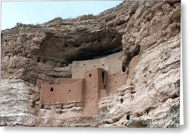 Montezuma Castle 3 Greeting Card