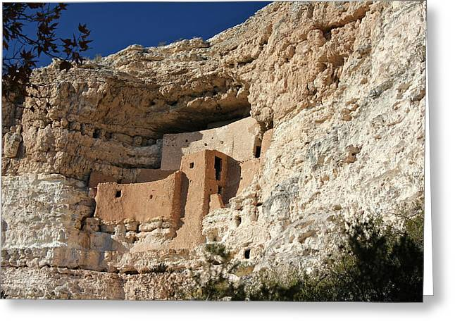 Greeting Card featuring the photograph Montezuma Castle by Penny Meyers