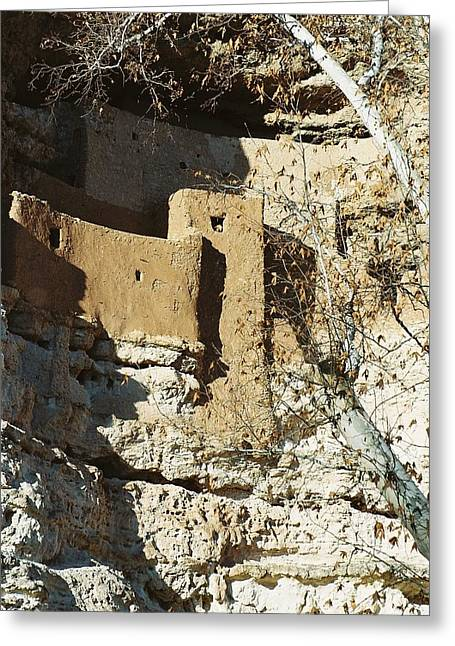 Greeting Card featuring the photograph Montezuma's Castle by Kerri Mortenson