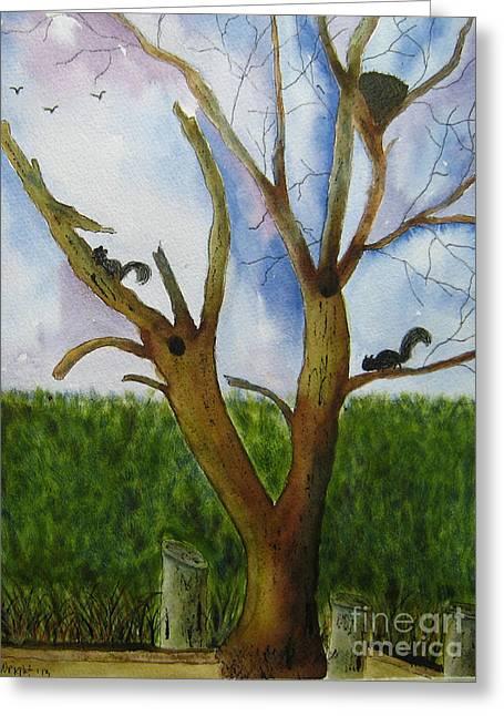 Montgomery Cove Tree Greeting Card
