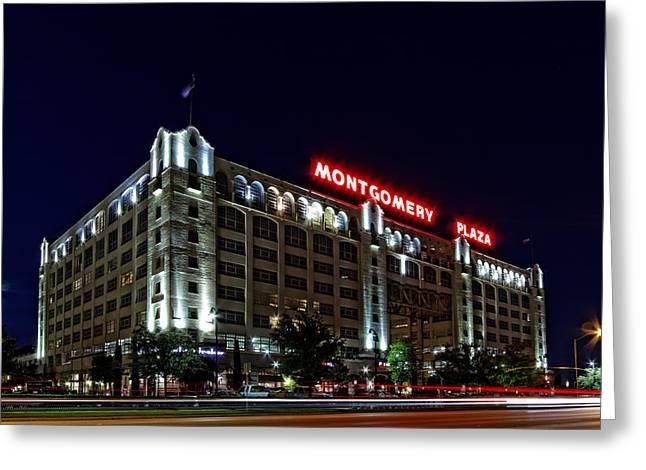 Montgomery Plaza Fort Worth Greeting Card by Jonathan Davison